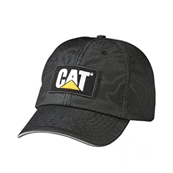 Caterpillar C1128094 REFLECTIVE MESH / Mens Caps (One Size) (Black)