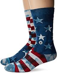 Stance Banner Socks Navy