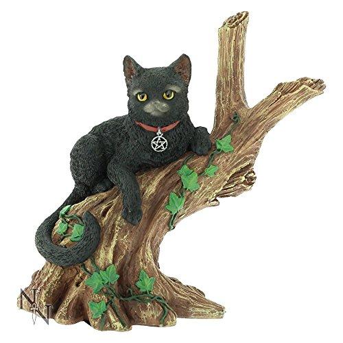 Onyx de la bruja figura decorativa del gato de 14 cm
