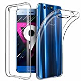 Coque Honor 9, EasyAcc Liquid Crystal Clear Premium TPU Transparent Antidérapant Case Pour Honor 9 5.15''Protection Dorsale Etui Slim Invisible Housse Cover