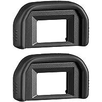 AFUNTA Oeilleton pour Canon Rebel T5i T4i T3i T3 T2i T1i XTi XSi XS, Viseur Oculaire pour Canon EOS 1100D 600D 550D 500D 450D 400D 350D 300D DSLR Caméra (Pack 2)