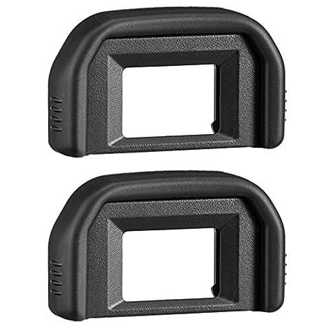AFUNTA 2 Pack Foto Okulare / Sucher Eyecup für Canon