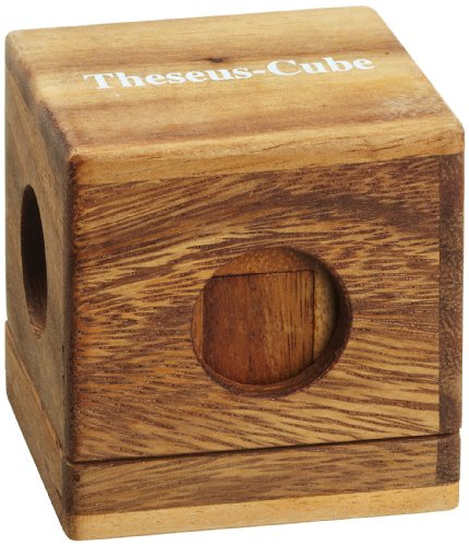 Philos 6275 - Juego rompecabezas de madera; cubo de teseo