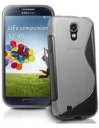 Connect Zone Coque en gel silicone pour Samsung Galaxy S4 i9500 S4 Mini i9190 S Line avec protecteur d'écran et chiffon de nettoyage