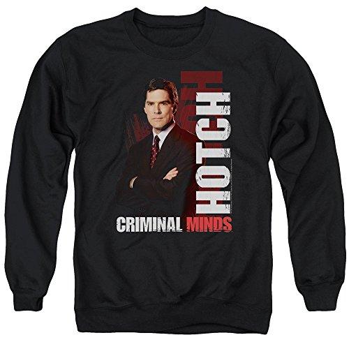Criminal Minds TV Show CBS Hotch Adult Crewneck Sweatshirt