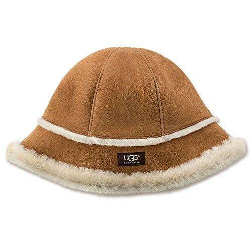 UGG Women's Sheepskin City Bucket Hat Chestnut Hat for sale  Delivered anywhere in UK