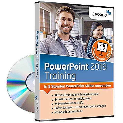 PowerPoint 2019 Training - In 8 Stunden PowerPoint sicher anwenden | Einsteiger und Auffrischer lernen mit diesem Kurs Schritt für Schritt die sichere Anwendung von PowerPoint [1 Nutzer-Lizenz]