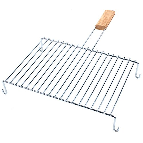 ruecab-1102-grille-de-barbecue-simple-inox-sur-pieds-poigne-bois-argent-7-x-42-x-59-cm