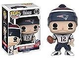 NFL 310231 Pop! Figurine en Vinyle de Tom Brady des Patriots Figurine en Vinyle de Tom Brady des Patriots.