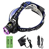 Genwiss 5000LM CREE XM-L XML T6 LED 3-Modes Design Headlamp Headlight Outdoor Sport