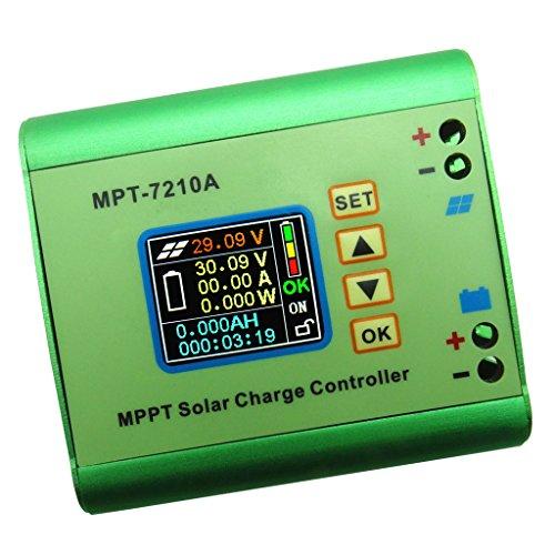 MagiDeal MPPT Solar Laderegler Solar Batterie Regulator 24/36/48/60/72V Kompatible DC-DC-Boost-Ladefunktion Batterie Regulator