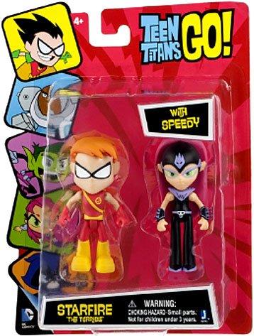 s Go! Starfire The Terrible with Speedy Action-Figur Set (Dc Comics Speedy)