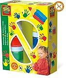 SES- Creative 00306 - Colori per le dita, 6 colori