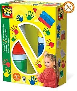 SES Creative - Paquete de Pinturas de Dedos, (00306)