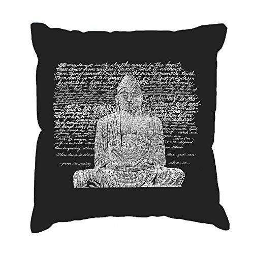 Ethelt5IV - Funda de cojín, diseño de Buda Zen