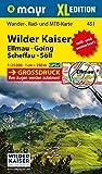 Wilder Kaiser - Ellmau - Going - Scheffau - Söll XL: Wander-, Rad- und Mountainbikekarte. GPS-genau. 1:25000 (Mayr Wanderkarten) -