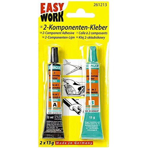 Easy Work Zwei-Komponenten-Kleber 2 x 13g, 1 Stück, 261213