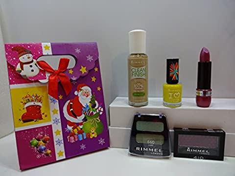 Rimmel London Make Up Products x 5 Lot In Gift Box ~310~