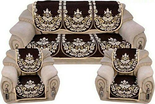 Amazon Great Indian Festival Sale Parth Polycotton Sofa Cover Set