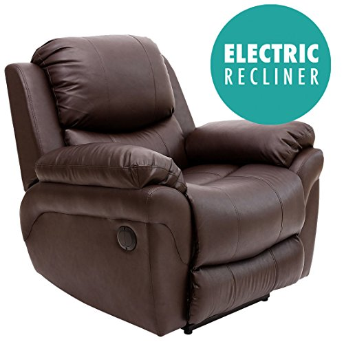 madison-electric-leather-automatic-recliner-armchair-sofa-home-lounge-chair-brown