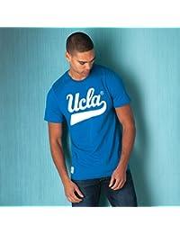 T-shirt UCLA avec logo manuscrit pour homme en bleu