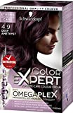 Schwarzkopf Color Expert Omegaplex Hair Dye, 4-9 Deep Amethyst