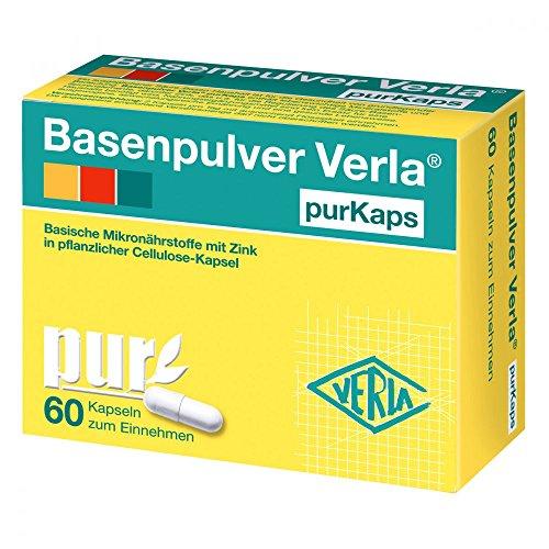 Basenpulver Verla purKaps, 60 St. Kapseln