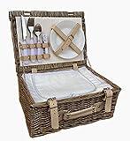 35cm 2 Person Ausgestatteter Picknickkorb mit Chiller