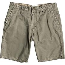 Quiksilver Everyday Chino Pantalones Cortos Verde Dusty Olive - Solid Talla:32