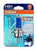 #7: Osram HS1 Halogen Cool Blue Hyper Rallye 62185 Exterior Headlight Bulb (12V, 45/40W)