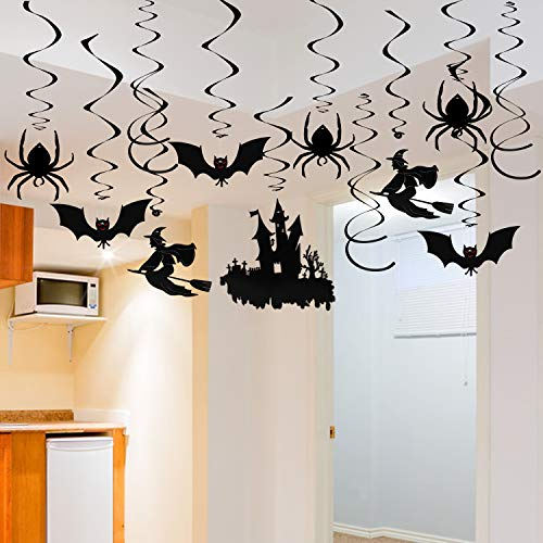 Halloween Party Decke Dekoration, 30 Stück Spukhaus Hängende -