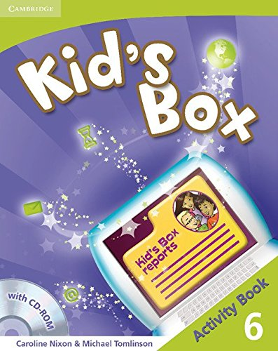 Kid's Box 6 Activity Book with CD-ROM - 9780521131988