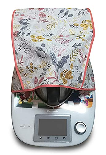Funda antimanchas para Thermomix TM31 & TM5 FLORES