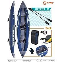 Kayak gonfiabili 2 persone PVC laminato Zray TORTUGA 400 x 90 cm