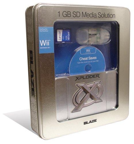 Wii - Media Solution 1GB inkl. Reader & Cheats