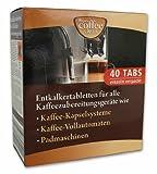 40 Entkalkertabs für z.B. MELITTA Kaffeemaschinen
