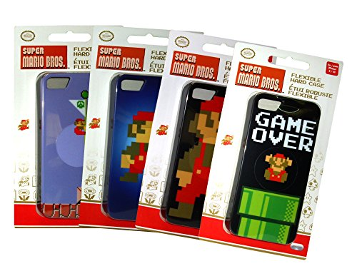 PDP - MOBILE - Box 4 X Super Mario Brother 8Bit - IPhone 5/5S : Mobiles , ML