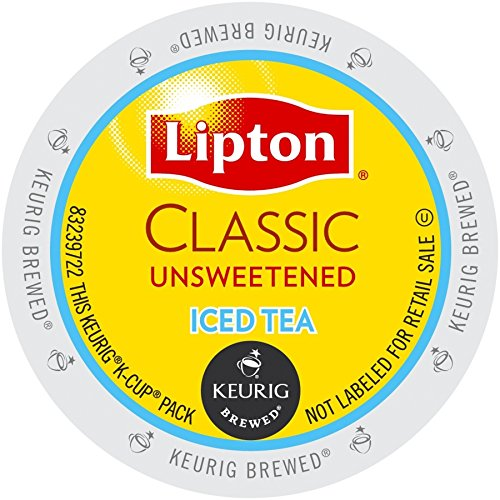 Lipton K-Cup Portion Pack for Keurig Brewers, Classic Unsweetened Iced Tea, 24 Count by Lipton