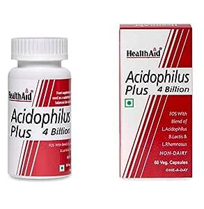 Healthaid Acidophilus Plus 4 Billion - 60 Capsules