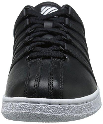 K-Swiss Classic Vn, Baskets Basses homme Noir/blanc