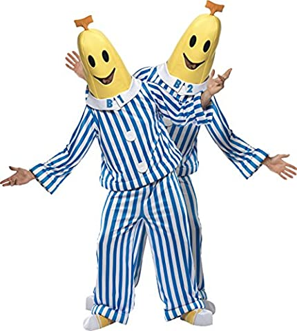 Fancy Dress Adult Costume - Bananas in Pyjames