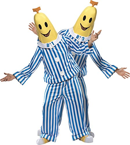 Bananas in Pyjamas Fancy Dress Costume for Adults