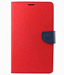 Gadget And Accessories 4u Flip Cover For Samsung Galaxy Note 2 II N7100 Red