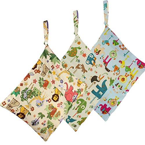 biubee-3-pack-wet-dry-cloth-diaper-bags-baby-waterproof-washable-reusable-hanging-diaper-organizer