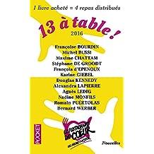 13 à table ! 2016 / Les Restos du Coeur
