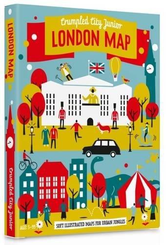 Junior London Crumpled City Map por PALOMAR Srl