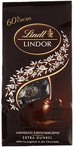 Lindt & Sprüngli Lindor Kugel Beutel Dark 60%, 2er Pack (2 x 136 g)
