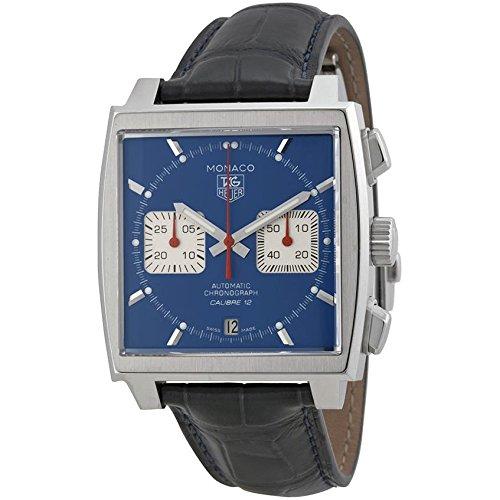 TAG HEUER Monaco Calibre 12 Herren-Armbanduhr 39MM AUTOMATIK CAW2111.FC6183