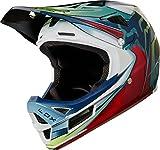 Fox Rpc Kustm Helmet, Weiß/Rot/Schwarz, Größe M