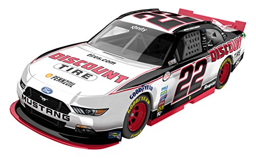 lionel-racing-brad-keselowski-22-discount-tire-2016-ford-mustang-nascar-diecast-car-164-scale